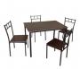 GROVER Set (Τραπ+4 Καρέκλες)