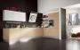 Κουζινά με τεχνητό δρύς