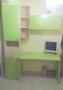 Γραφείο με βιβλιοθήκη βέρα