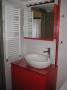 Επιπλο μπάνιου κόκκινο