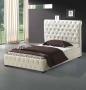 Κρεβάτι Λουϊζα κρέμ