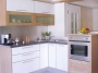 Μοντέρνα κουζίνα βακελίτη δίχρωμη